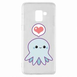 Чехол для Samsung A8+ 2018 Sweet Octopus
