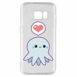 Чехол для Samsung S7 Sweet Octopus