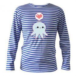 Тельняшка с длинным рукавом Sweet Octopus