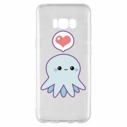 Чехол для Samsung S8+ Sweet Octopus