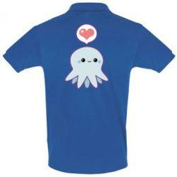 Мужская футболка поло Sweet Octopus