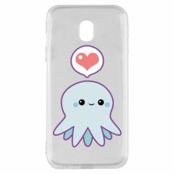 Чехол для Samsung J3 2017 Sweet Octopus