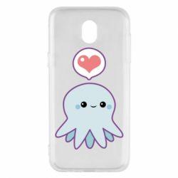 Чехол для Samsung J5 2017 Sweet Octopus