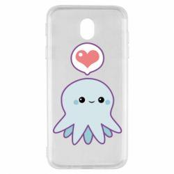 Чехол для Samsung J7 2017 Sweet Octopus