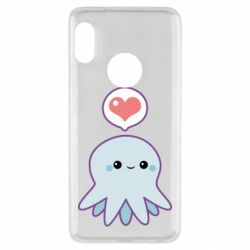 Чохол для Xiaomi Redmi Note 5 Sweet Octopus