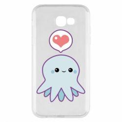 Чехол для Samsung A7 2017 Sweet Octopus