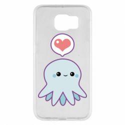 Чехол для Samsung S6 Sweet Octopus