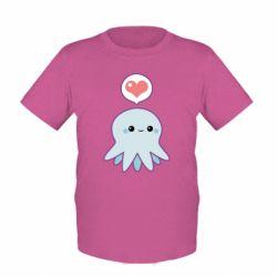 Детская футболка Sweet Octopus