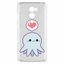 Чехол для Xiaomi Redmi 4 Sweet Octopus