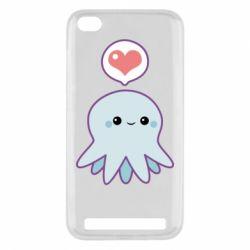 Чехол для Xiaomi Redmi 5a Sweet Octopus