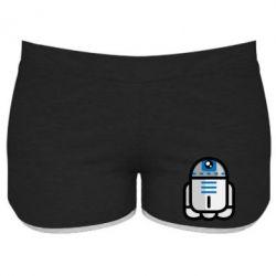 Женские шорты Sweet R2D2 - FatLine