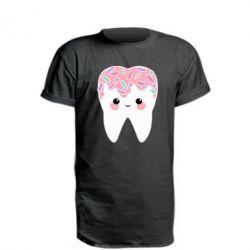 Подовжена футболка Sweet tooth