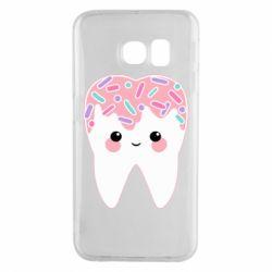 Чохол для Samsung S6 EDGE Sweet tooth