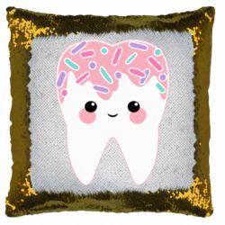 Подушка-хамелеон Sweet tooth