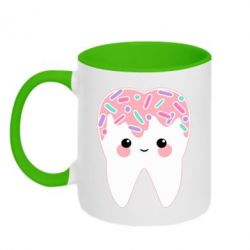 Кружка двоколірна 320ml Sweet tooth