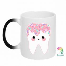 Кружка-хамелеон Sweet tooth