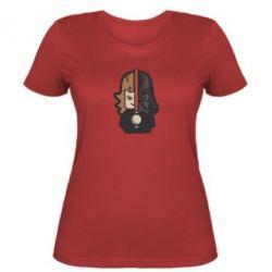 Женская футболка Sweet Vader - FatLine