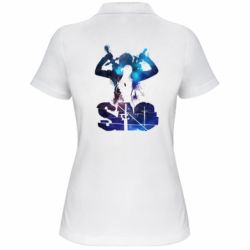 Жіноча футболка поло Sword Art Online space