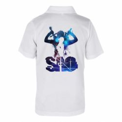 Дитяча футболка поло Sword Art Online space