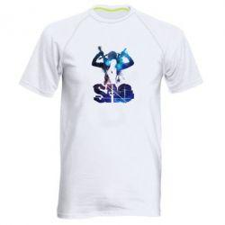 Чоловіча спортивна футболка Sword Art Online space
