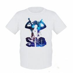 Дитяча футболка Sword Art Online space