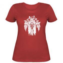 Женская футболка Symbol horde