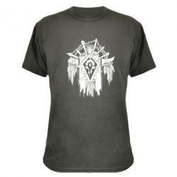 Камуфляжная футболка Symbol horde - FatLine