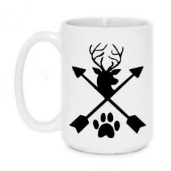 Кружка 420ml Symbol of hunting
