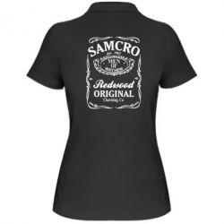 Жіноча футболка поло Сини Анархії Samcro - FatLine