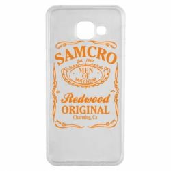 Чохол для Samsung A3 2016 Сини Анархії Samcro