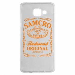 Чохол для Samsung A5 2016 Сини Анархії Samcro