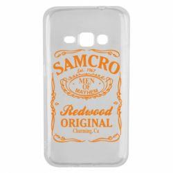 Чохол для Samsung J1 2016 Сини Анархії Samcro