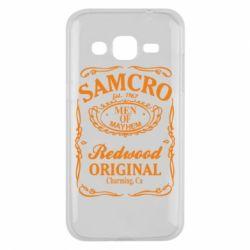 Чехол для Samsung J2 2015 Сыны Анархии Samcro