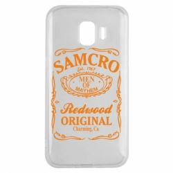 Чехол для Samsung J2 2018 Сыны Анархии Samcro