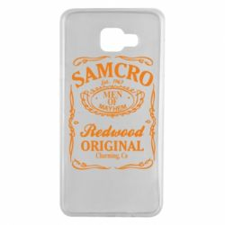 Чехол для Samsung A7 2016 Сыны Анархии Samcro