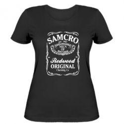 Жіноча футболка Сини Анархії Samcro - FatLine