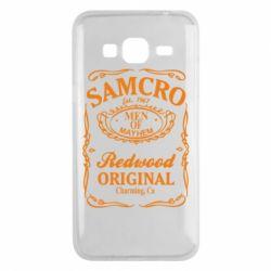 Чехол для Samsung J3 2016 Сыны Анархии Samcro