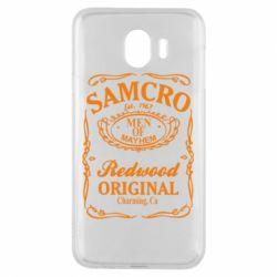 Чехол для Samsung J4 Сыны Анархии Samcro