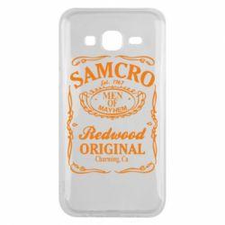 Чехол для Samsung J5 2015 Сыны Анархии Samcro