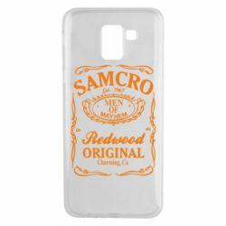Чехол для Samsung J6 Сыны Анархии Samcro