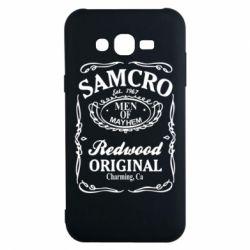 Чехол для Samsung J7 2015 Сыны Анархии Samcro