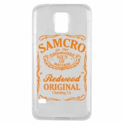 Чехол для Samsung S5 Сыны Анархии Samcro