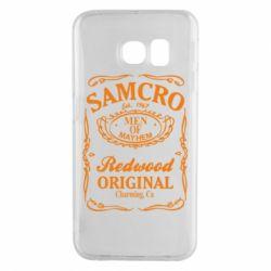 Чехол для Samsung S6 EDGE Сыны Анархии Samcro