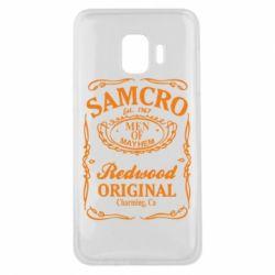 Чехол для Samsung J2 Core Сыны Анархии Samcro