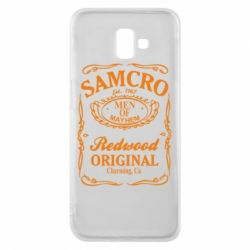 Чехол для Samsung J6 Plus 2018 Сыны Анархии Samcro