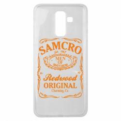 Чехол для Samsung J8 2018 Сыны Анархии Samcro