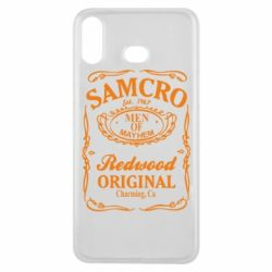 Чохол для Samsung A6s Сини Анархії Samcro
