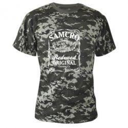 Камуфляжная футболка Сыны Анархии Samcro
