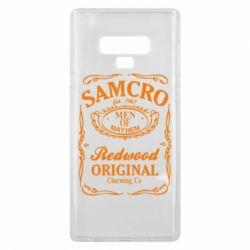 Чехол для Samsung Note 9 Сыны Анархии Samcro