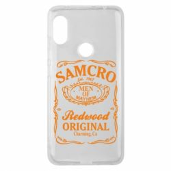 Чехол для Xiaomi Redmi Note 6 Pro Сыны Анархии Samcro